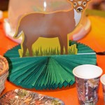 hunting deer party decorations