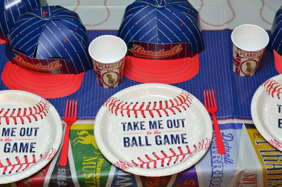 Baseball Birthday Party Tableware