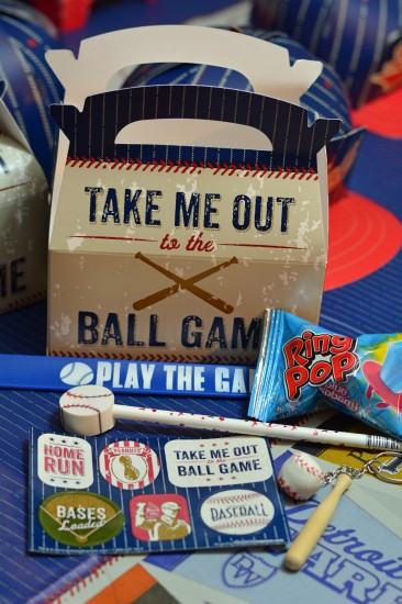 Baseball Birthday Goodie Bag