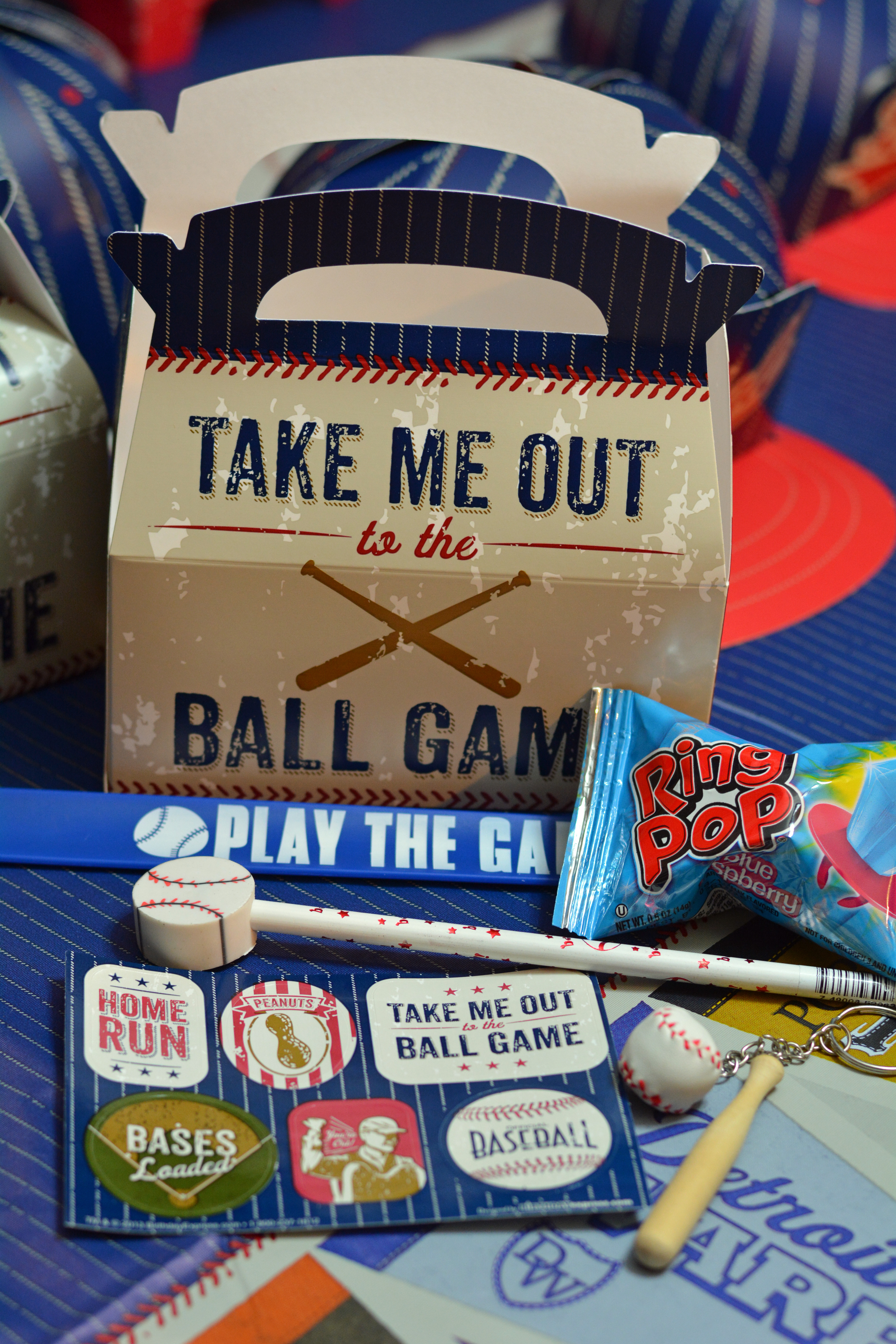 Baseball Goodie Bags Birthday Party Ideas