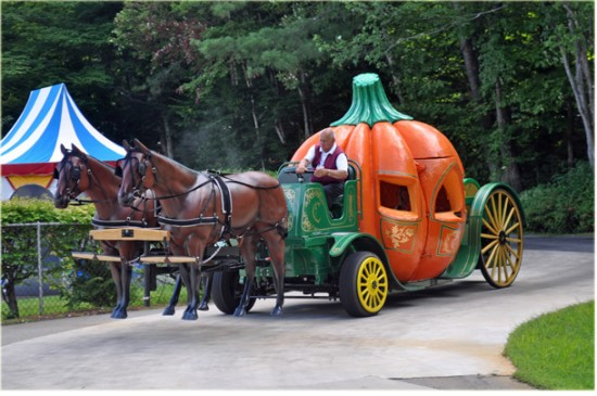 Pumpkin Coach Ride StoryLand
