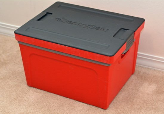 Sentry Safe Guardian Storage Box GB20L