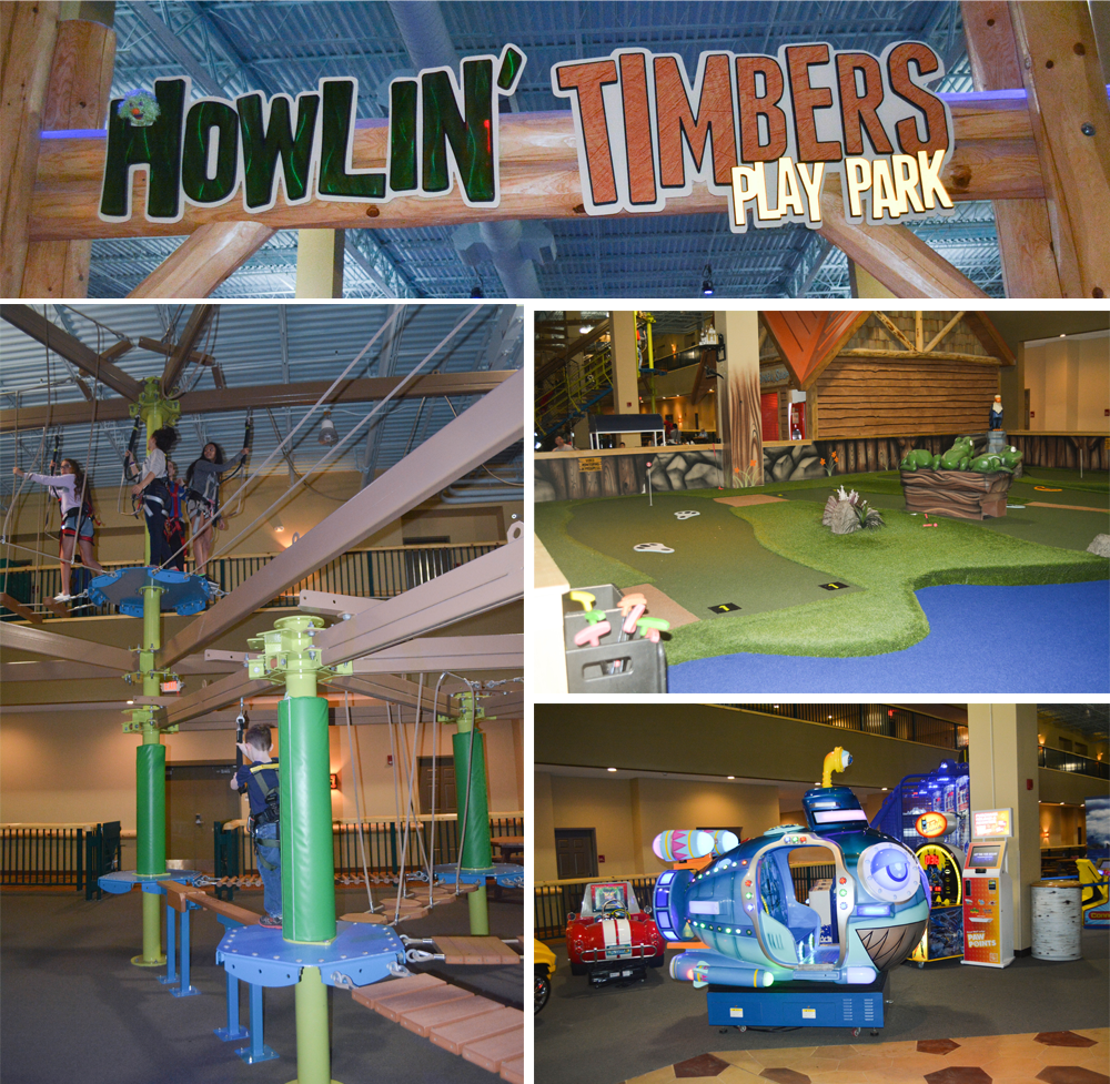 Howlin' Timbers Play Park