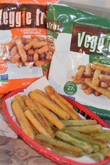 veggie fries broccoli and potato