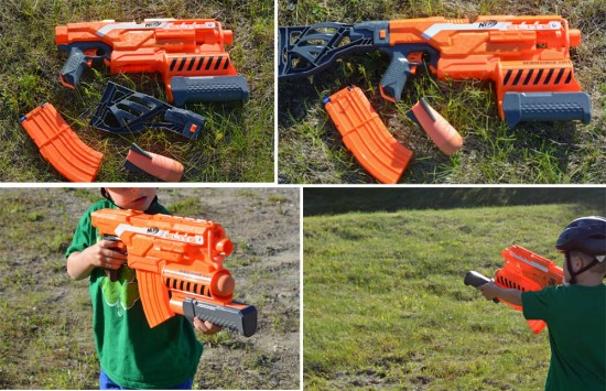 Hasbro Nerf N-Strike Elite Demolisher 2-in-1 Blaster