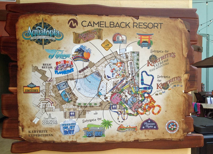 camelback resort map