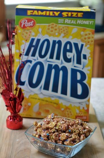 Honey Comb Monkey Munch