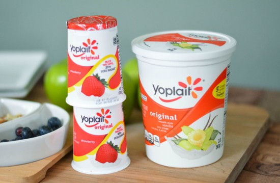 Yoplait Wholesome Snacking