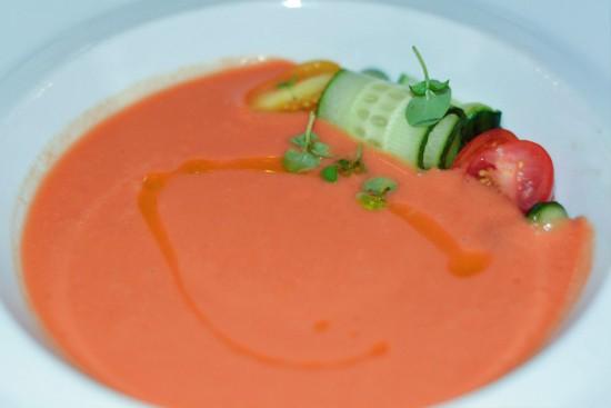 Heirloom Tomato Gazpacho