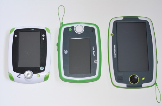 LeapFrog LeapPad Comparisson
