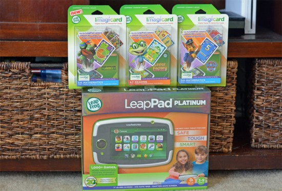 LeapFrog LeapPad Platinum with Imagicard