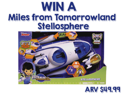 Miles From Tomorrowland Stellosphere giveaway