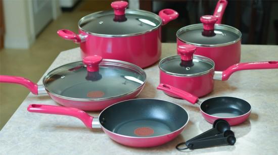 T-fal Excite Non-Stick 14-Piece Cookware Set