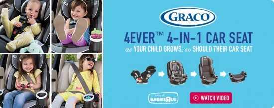 While That Wasn T The Option 7 Years Ago There Is Now Graco 4ever All In 1 Car Seat