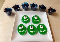 Monstrous Fun With Monsters University Jell-O Snacks