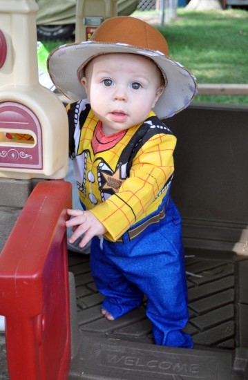 1st halloween toy story