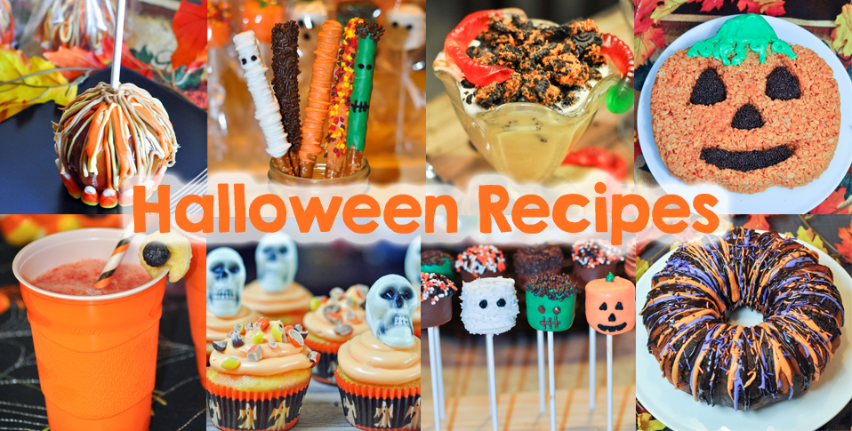 10 halloween recipes mommy 39 s fabulous finds for Easy halloween treats for work party