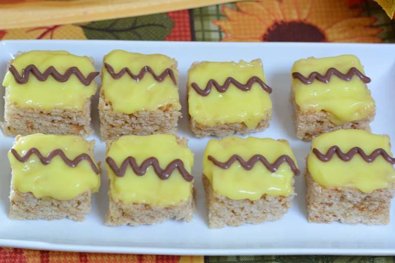 Charlie Brown Rice Krispies Treats