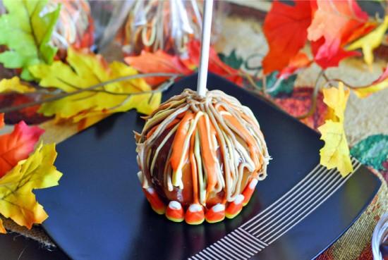Fall Caramel Apples