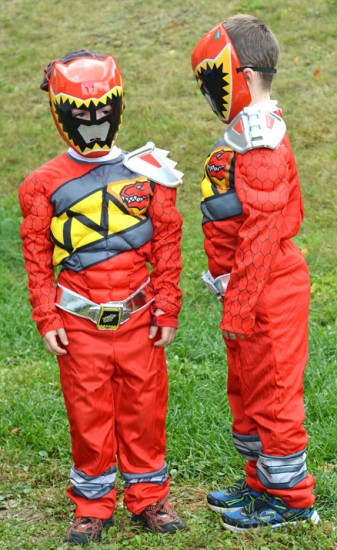 Red Power Rangers Costume