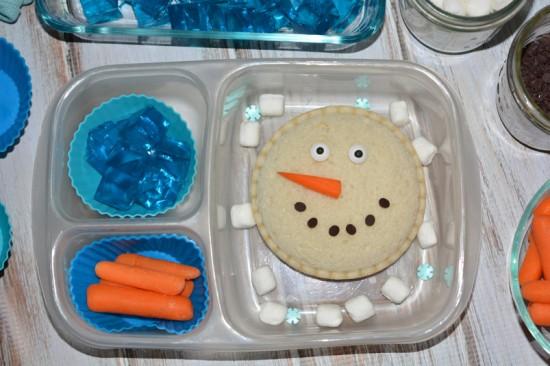 Smucker's Uncrustables Snowman