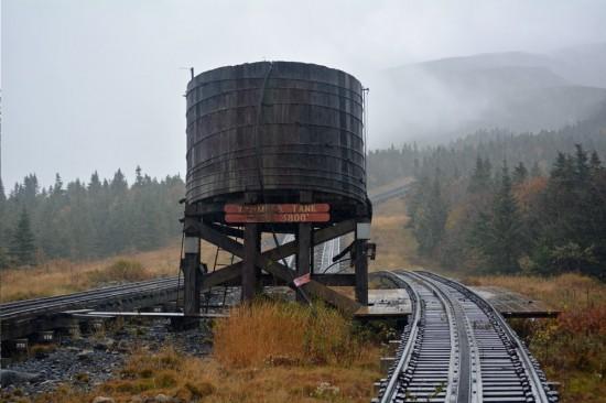 cog railway fall