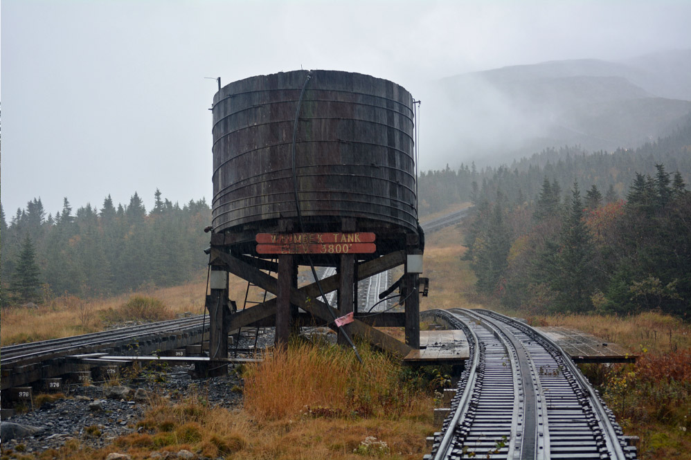 Mount Washington Cog Railway fall