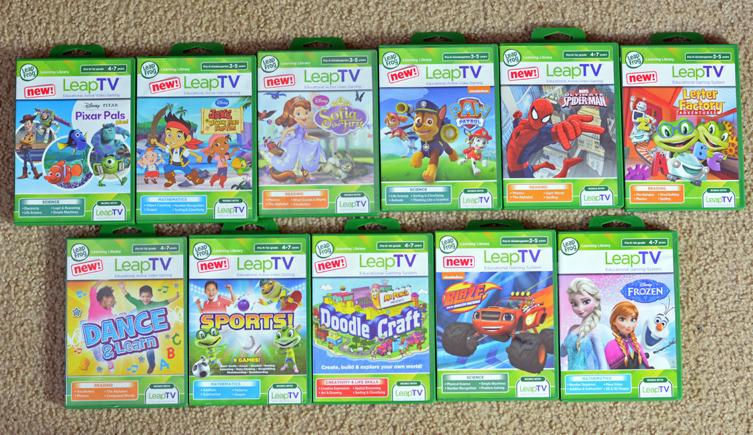 LeapFrog LeapTV Games
