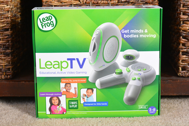 Leap tv dance and learn game