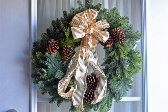 christmas forest wreath giveaway