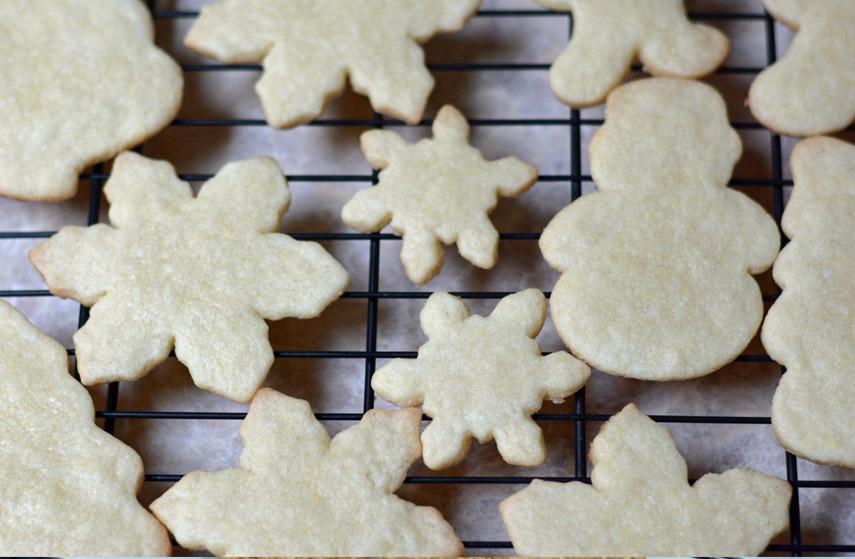 Butter Vanilla Sugar cookies
