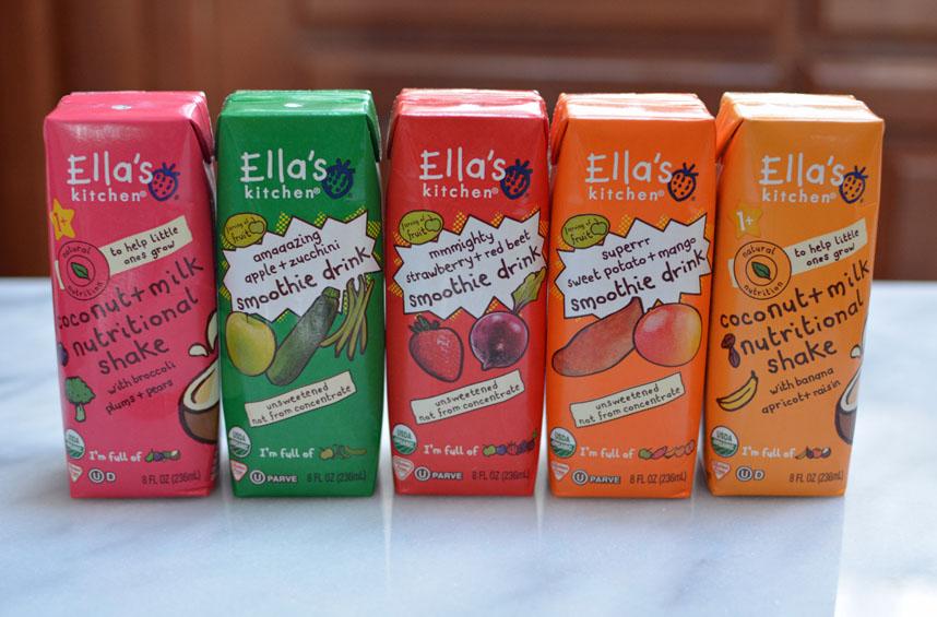 Ella's Kitchen smoothie drinks