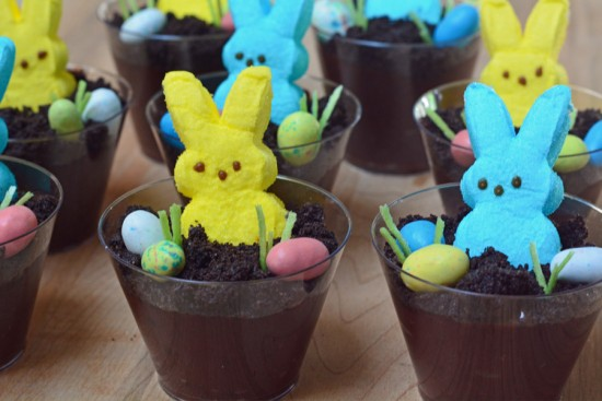Peeps Dessert Pudding Cups