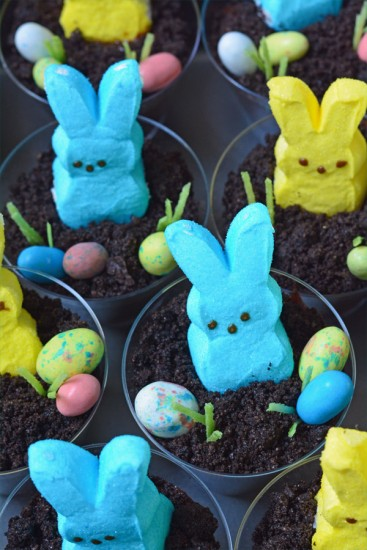 Peeps Easter Dirt Cups