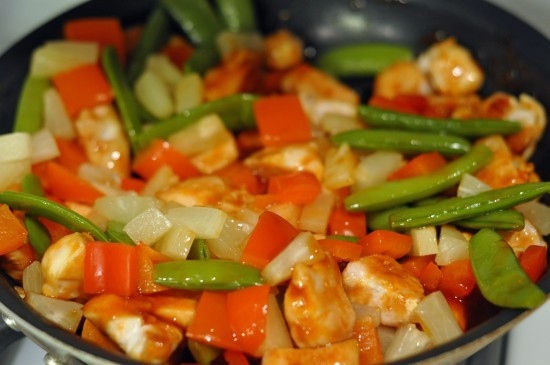 easy sweet and sour chicken