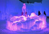 Experience A Winter Wonderland at the Ice Castles