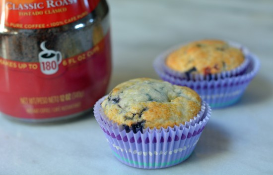 folgers instant coffee with muffins