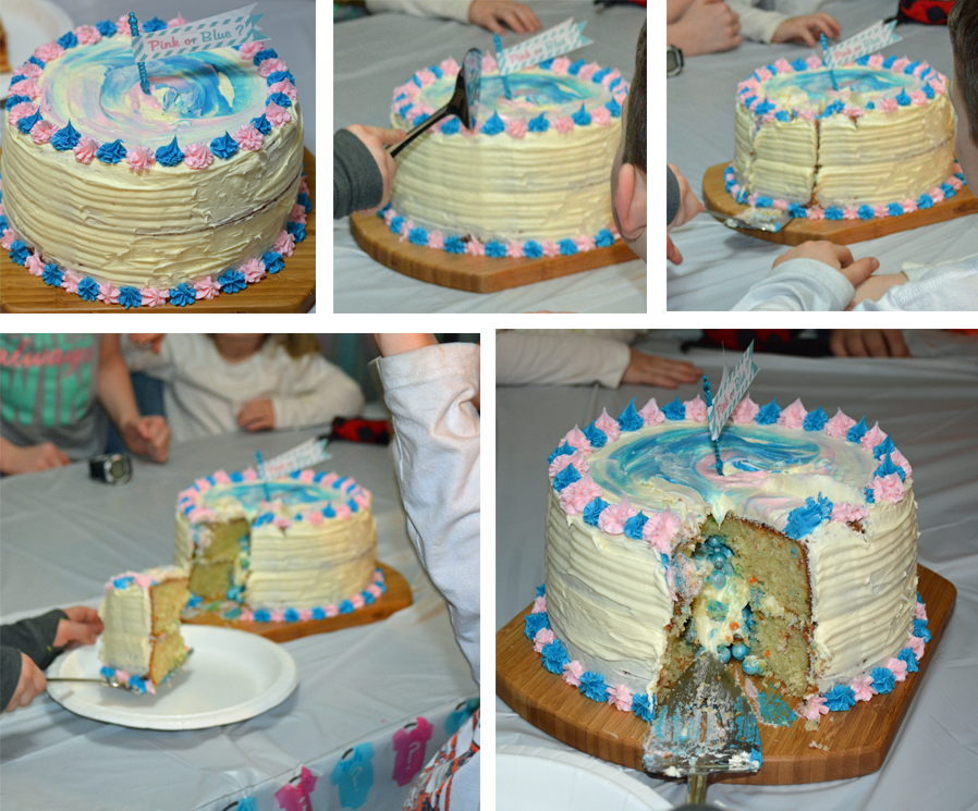 Cake Ideas For Baby Reveal Party : Fun Ideas for Hosting a Gender Reveal Party