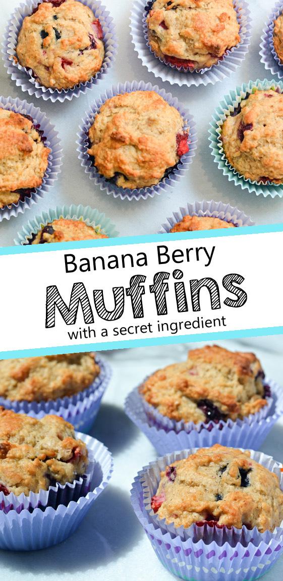 banana applesauce oatmeal muffins