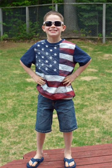 patriotic children's apparel