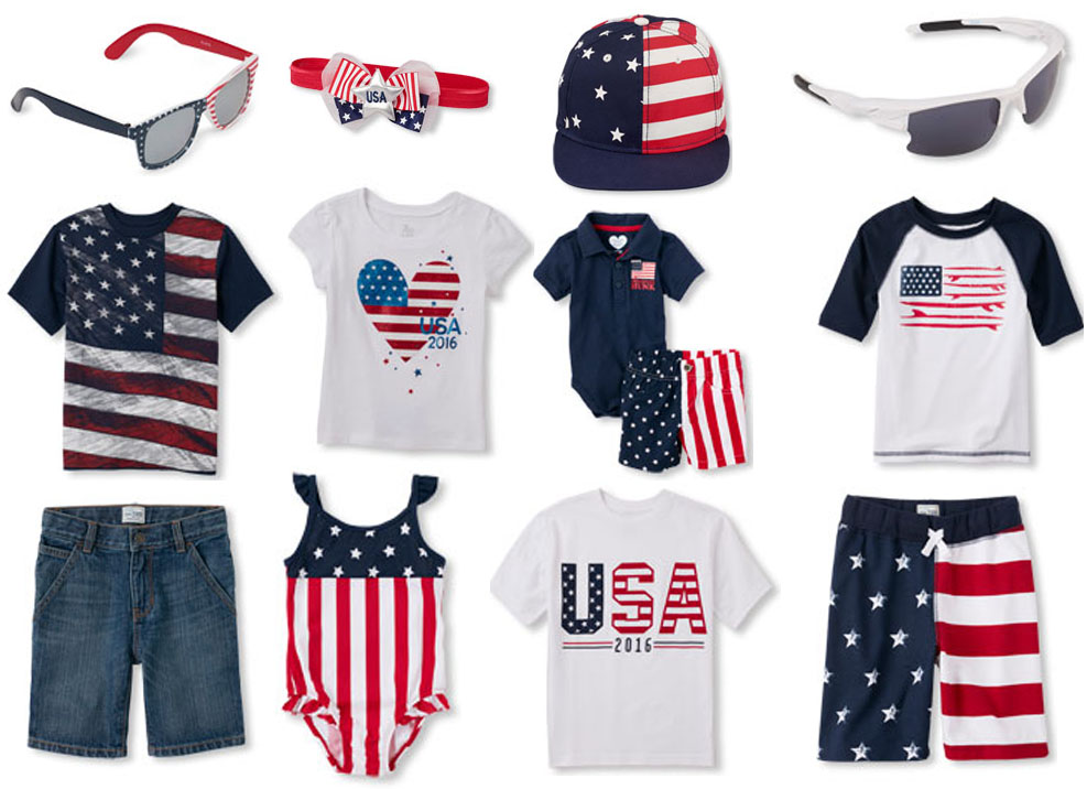 Patriotic Children's Clothing at The Children's Place