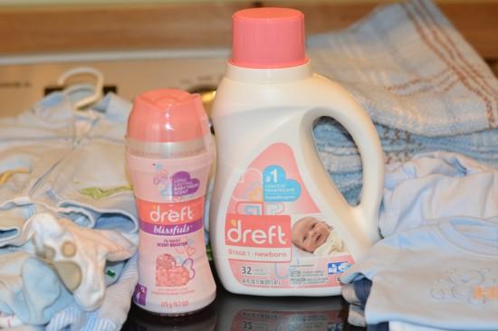 Dreft newborn detergent #amazinghood