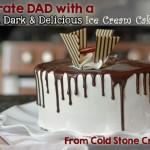 Tall Dark & Delicioius Ice Cream Cake Cold Stone Creamery