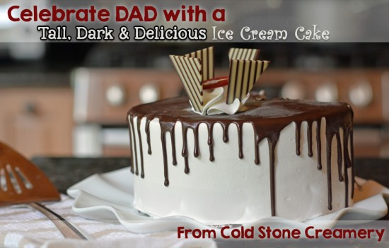 Tall Dark & Delicioius Ice Cream Cake Cold Stone Creamery