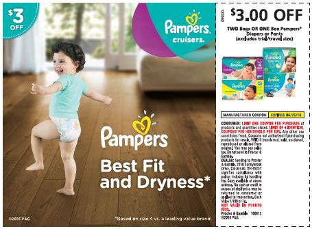 Save Big With High Value Coupons From Pampers Mommy S