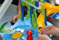 PLAYMOBIL's NEW Water Park with Slides Playset #Giveaway