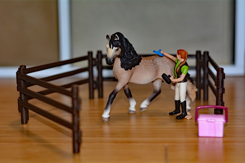 Schleich Horses - Schleich Horse Club collection Horse Care Set