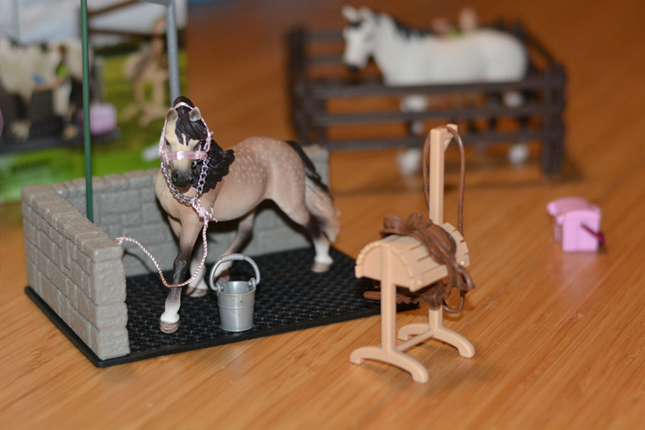 Schleich Horse Club collection - Horse Wash Area