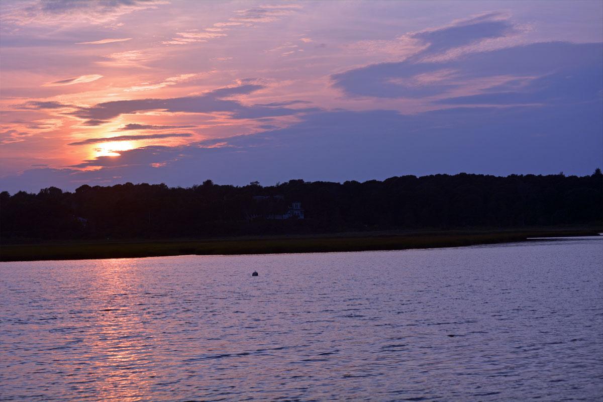 cape cod sunset #roadtripchip