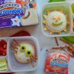 School lunch ideas uncrustables